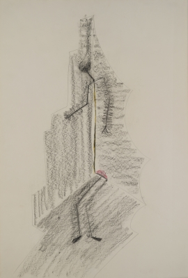 Keith Bowler 1984: Burial Drawing