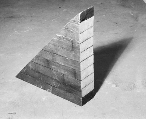 Folded Timber Large 1977 Keith Bowler