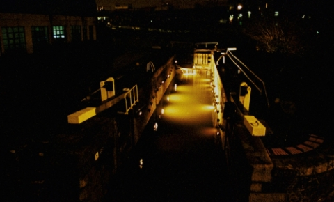 FlickerFixer: Regents Canal, London, 2000, 2001