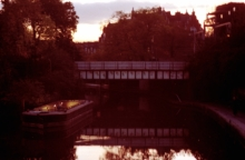 Barge Light: Regents Canal 2001