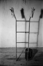 Ladder Figure with Wax: 1987