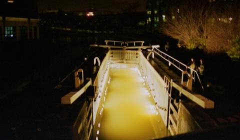 FlickerFixer: Regents Canal, London, 2000