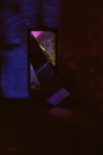 Shift:strobe light installation Keith Bowler 2003