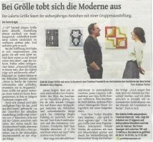 7 Up  Pass:Projects  Westdeutshce Zeitung, Review